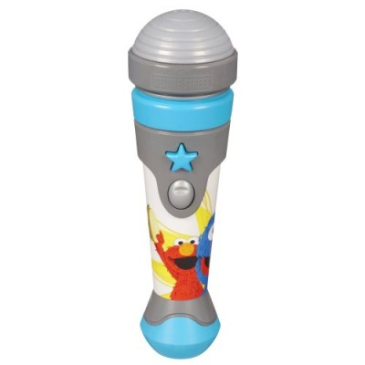 Playskool Sesame Street Let's Rock! Grover Microphone