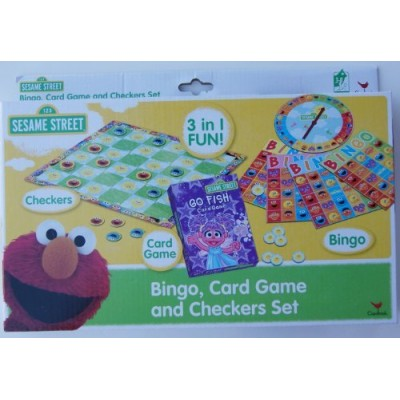 Sesame Street 3-in-1 Game Set