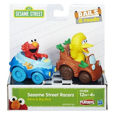 Sesame Street Elmo and Big Bird Playskool Racers