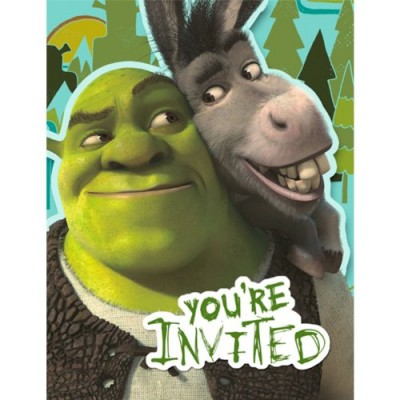 Shrek Forever After Invitations (8) Party Supplies [Toy]