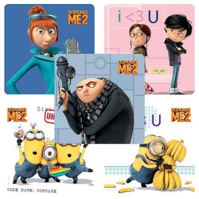 Despicable Me 2 Stickers - 75 per Pack