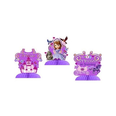 Disney Junior Sofia the First Tabletop Decorations