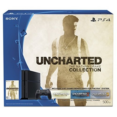 PlayStation 4 500GB Uncharted: The Nathan Drake Collection Bundle (Digital Download Code)