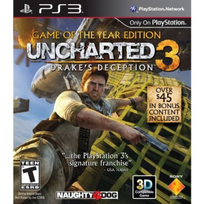 Uncharted 3: Drake's Deception - Game of the Year Edition - Playstation 3