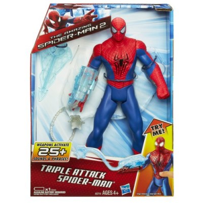 Marvel Amazing Spider-Man 2 Triple Attack Spider-Man 10 Inches