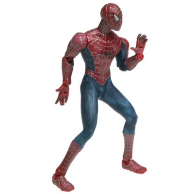 SpiderMan Movie ToyBiz Action Figure Web Swinging SpiderMan