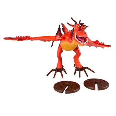 Dreamworks Dragons Defenders of Berk Action Dragon Figure, Hookfang Monstrous Nightmare