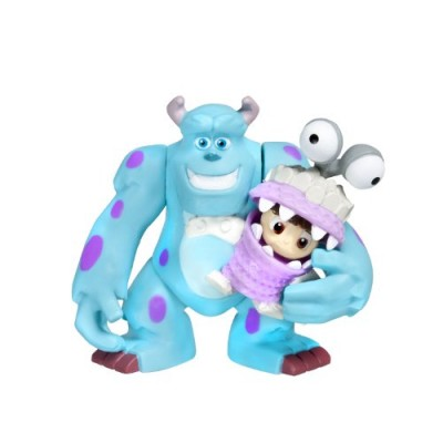 "Spinmaster Monsters Inc. Sulley and Boo 2"" Figure, 2 Pack"