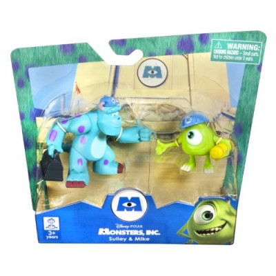 "Spinmaster Monsters Inc. Sulley and Mike 2"" Figure, 2-Pack"