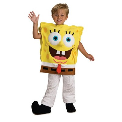 Child's Spongebob Squarepants Costume, Toddler