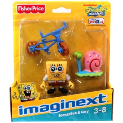Imaginext, SpongeBob Squarepants Exclusive Figures, SpongeBob & Gary