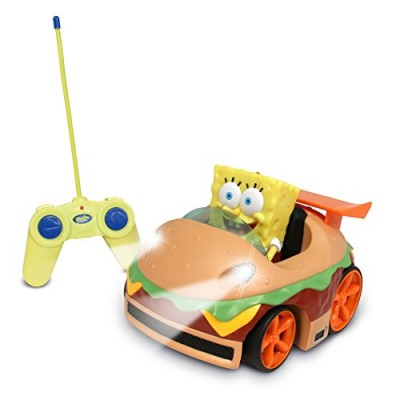 NKOK Remote Control Krabby Patty Vehicle with Spongebob
