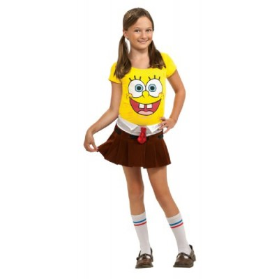 SpongeBob Squarepants Spongebabe Costume - One Color - Medium
