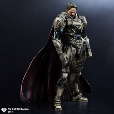 Square Enix Play Arts Kai Jor EL Man of Steel Action Figure