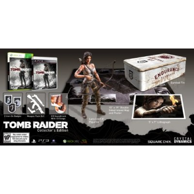 Tomb Raider Survival/Collector's Edition - Playstation 3
