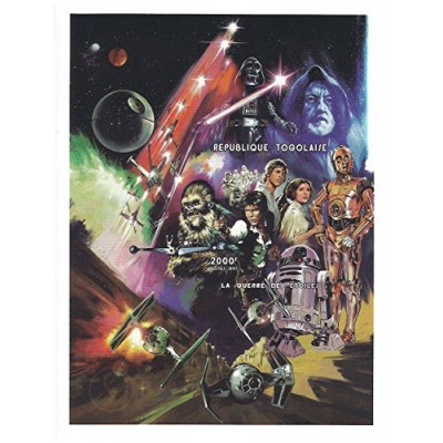 Star Wars Episode IV: A New Hope - Large stamp for collectors - Rare mint and never mounted sheet - 1997 / 2000F / Togo