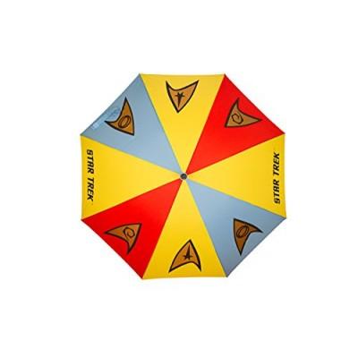 Official Star Trek Emblems Stick Umbrella - Merchandise by LOVARZI