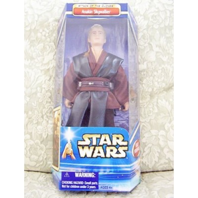 2002 Star Wars Episode II Attack of the Clones 12 Action Figure - Anakin Skywalker