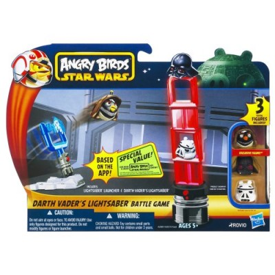 Angry Birds Star Wars Darth Vader's Lightsaber Battle Game