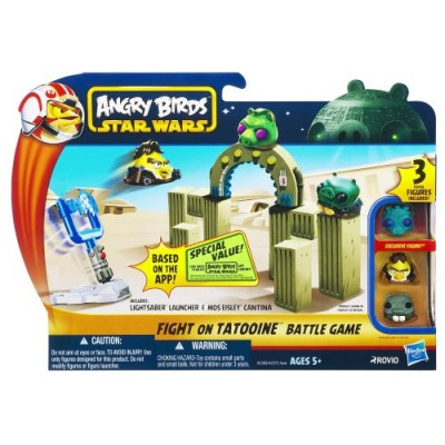 Angry Birds Star Wars Fight On Tatooine Battle Game