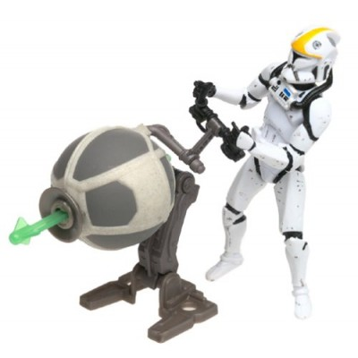 "Clone Trooper Republic Gunship Pilot Star Wars Attack of the Clones 3.75"" Action Figure"