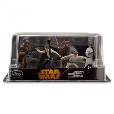 Disney Star Wars Figurine Collectible Playset (Pack of 6)