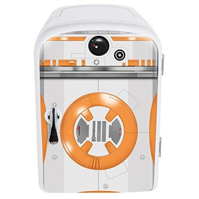 NEW World Premier Star Wars BB8 4Liter Mini Fridge