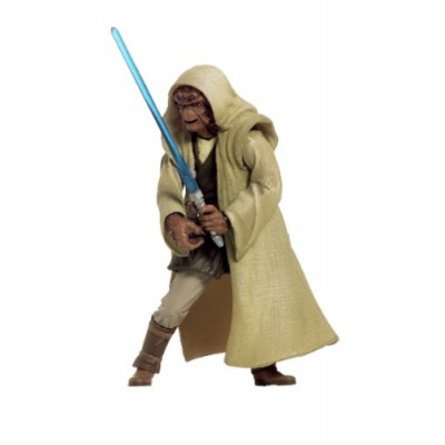 NIKTO JEDI KNIGHT Star Wars Attack of the Clones 2002 Action Figure & Accessories