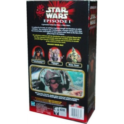 Star Wars 2000 Collection Episode 1 The Phantom Menace 9 Inch Tall Fully Poseable Action Figure with Authentically Styled Outfit and Accessories - ...
