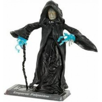 Star Wars - 2006 - Hasbro - Saga Collection - Emperor Palpatine Action Figure - #043 - Battle of Endor - Episode VI - Return of the Jedi - w/ Exclu...