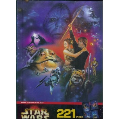 Star Wars 221 pc. Mural Puzzle: Return of the Jedi