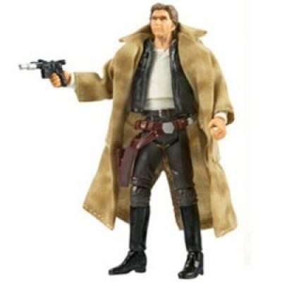 """Star Wars 3.75"""" Vintage Figure - Han Solo Endor"""