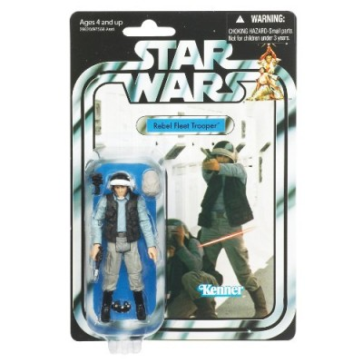 Star Wars 3.75 Vintage Figure Rebel Fleet Trooper