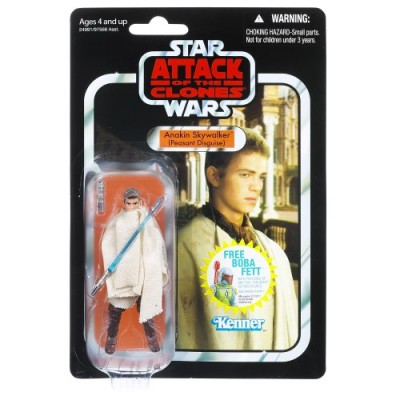 Star Wars Attack of the Clones Anakin Skywalker (Peasant Disguise)