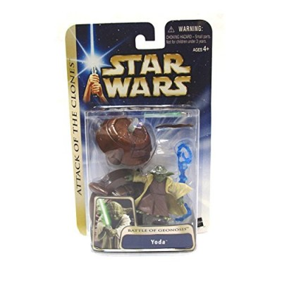 Star Wars Attack of the Clones Battle of Geonosis Yoda