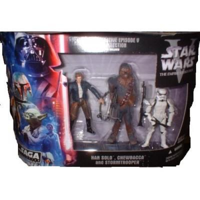Star Wars Commemorative Episode VI DVD Collection 4-Pack Luke Skywalker, Emperor Palpatine, R2-D2 & C-3PO