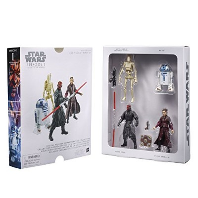 STAR WARS Digital Release Commemorative Collection Box Set - Episode 1 The Phantom Menace - R2-D2, Darth Maul, Padme Amidala, Battle Droid (pack of...