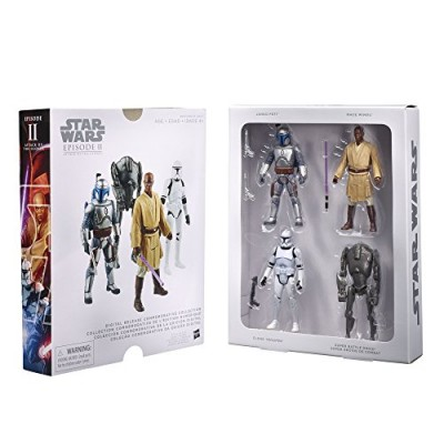 STAR WARS Digital Release Commemorative Collection Box Set - Episode 2 Attack of the Clones 3.75-Inch Figures