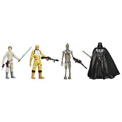 STAR WARS Digital Release Commemorative Collection Box Set - Episode 5 The Empire Strikes Back - Luke Skywalker, Darth Vader, Bossk, IG-88 (pack of...