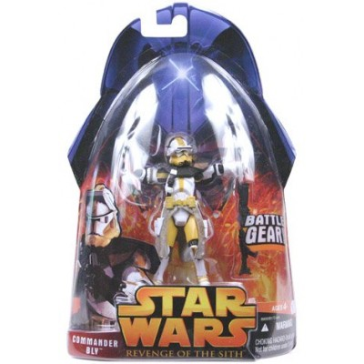 Star Wars E3 Revenge of the Sith Action Figure #57 Commander Bly (Battle Gear)