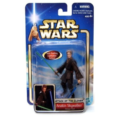 Star Wars Episode 2 Anakin Skywalker Hanger Duel Action Figure