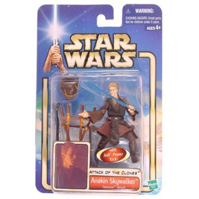 Star Wars Episode 2 Anakin Skywalker Tatooine Attack Action Figure