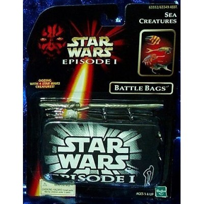 Star Wars Episode I Battle Bags with Four Creatures