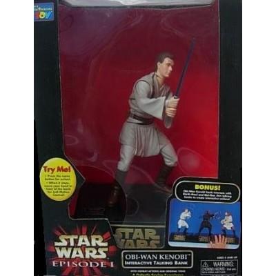 Star Wars Episode I Obi-Wan Kenobi Interactive Talking Bank