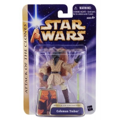 Star Wars Episode II Attack of the Clones Figure: Coleman Trebor