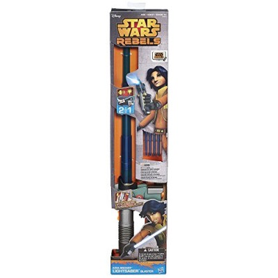 Star Wars Ezra Bridger Lightsaber Blaster