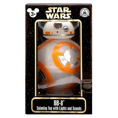 Star Wars Force Awakens BB-8 Droid Spinning Top With Lights & Sounds Figure Disney Parks Authentic Original