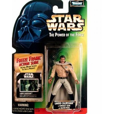 """Star Wars """"Lando Calrissian in General's Gear"""" Freeze Frame"""