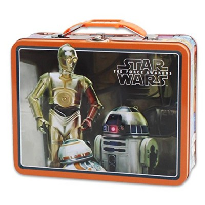 Star Wars Large Embossed Tin Lunch Box - Droids
