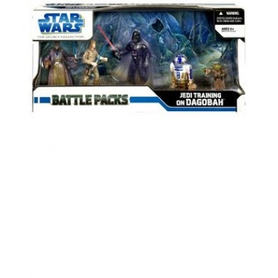 Star Wars Legacy Battle Pack - Jedi Training on Dagobah